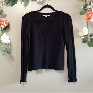 Elizabeth and James | ester waffle thermal top